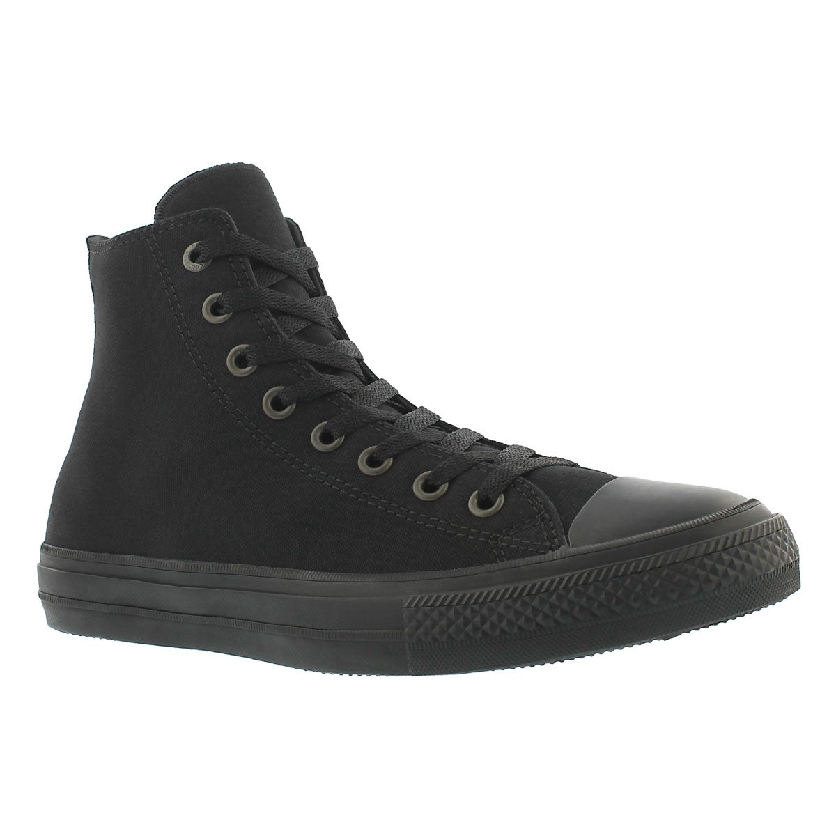 Men's CHUCK II VIZ FLOW black mono hi tops
