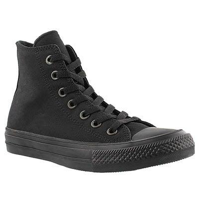 Converse Women's CHUCK II VIZ FLOW black mono hi tops