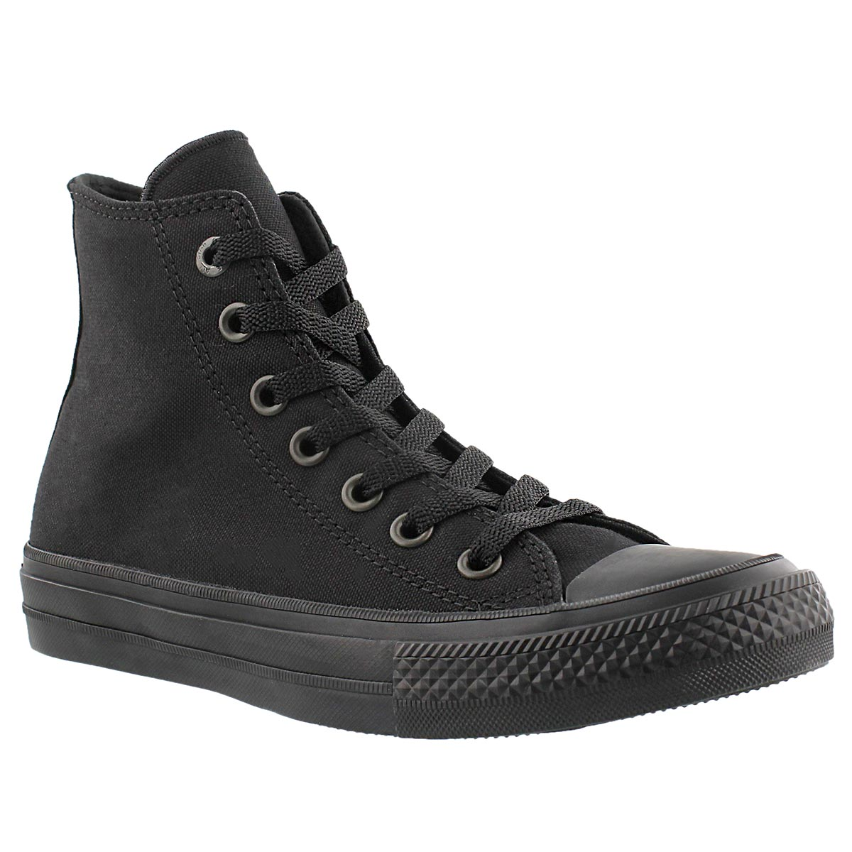 Women's CHUCK II VIZ FLOW black mono hi tops
