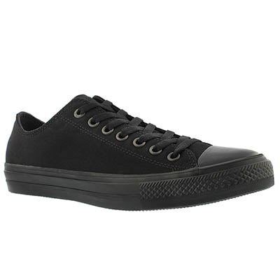 Converse Men's CHUCK II VIZ FLOW black mono sneakers