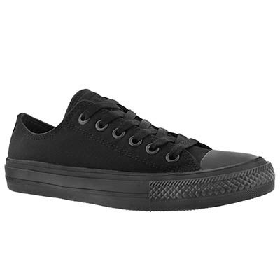 Converse Women's CHUCK II VIZ FLOW black mono sneakers