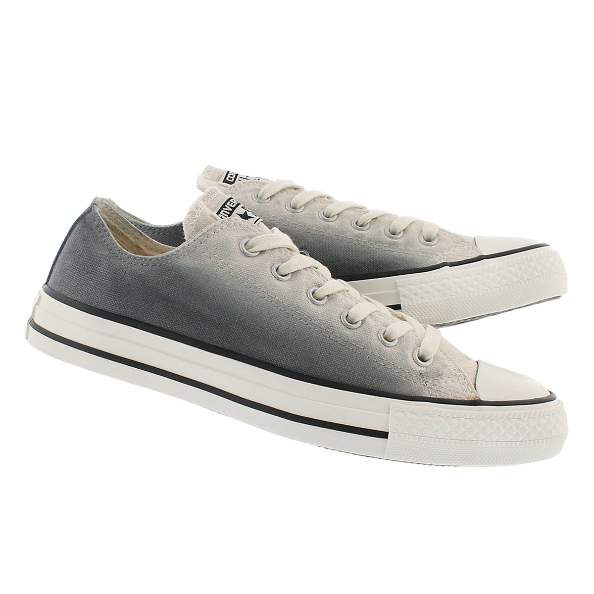 Lds CT AllStar SunsetWash gry/wht oxford