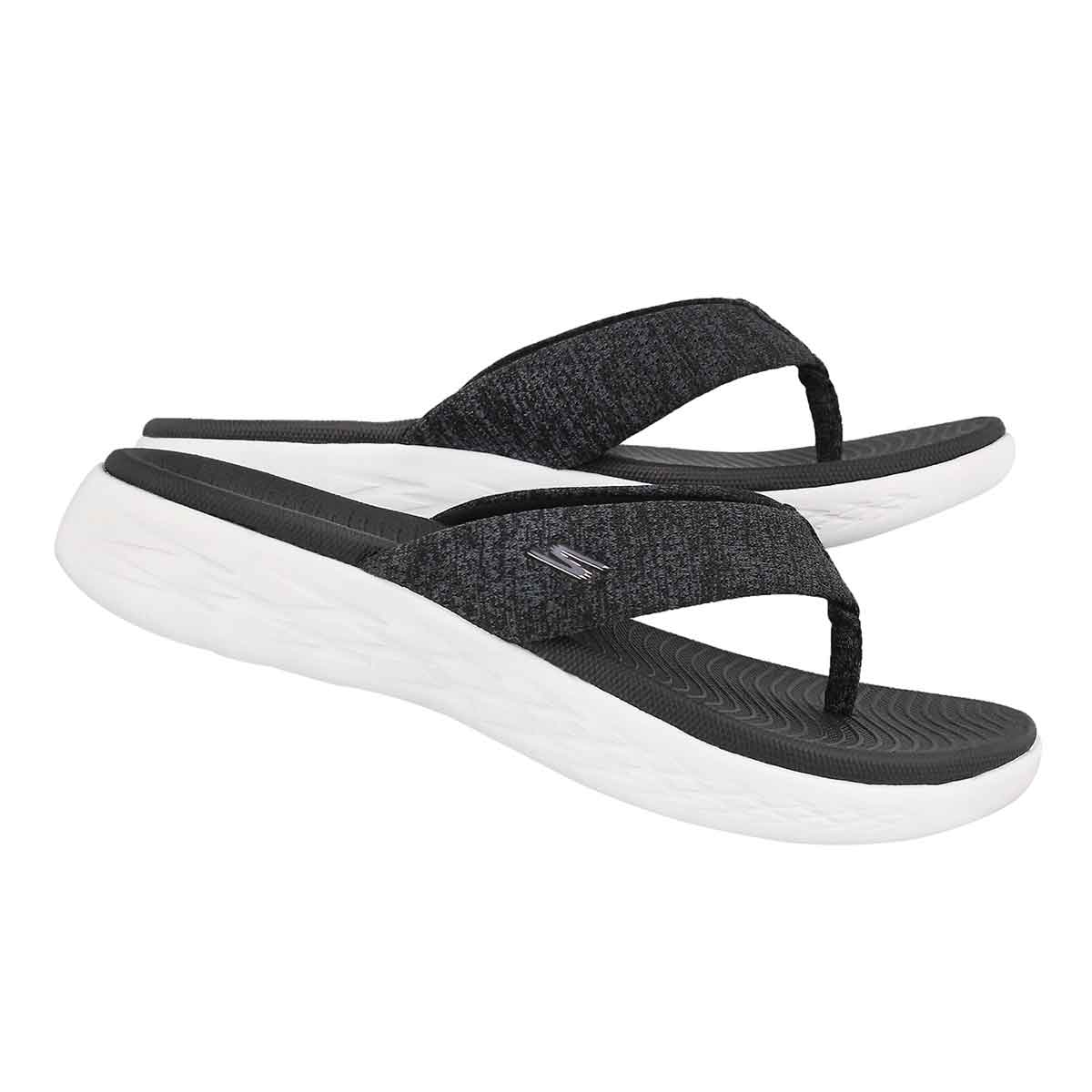 Lds On-The-Go 600 black flip flop