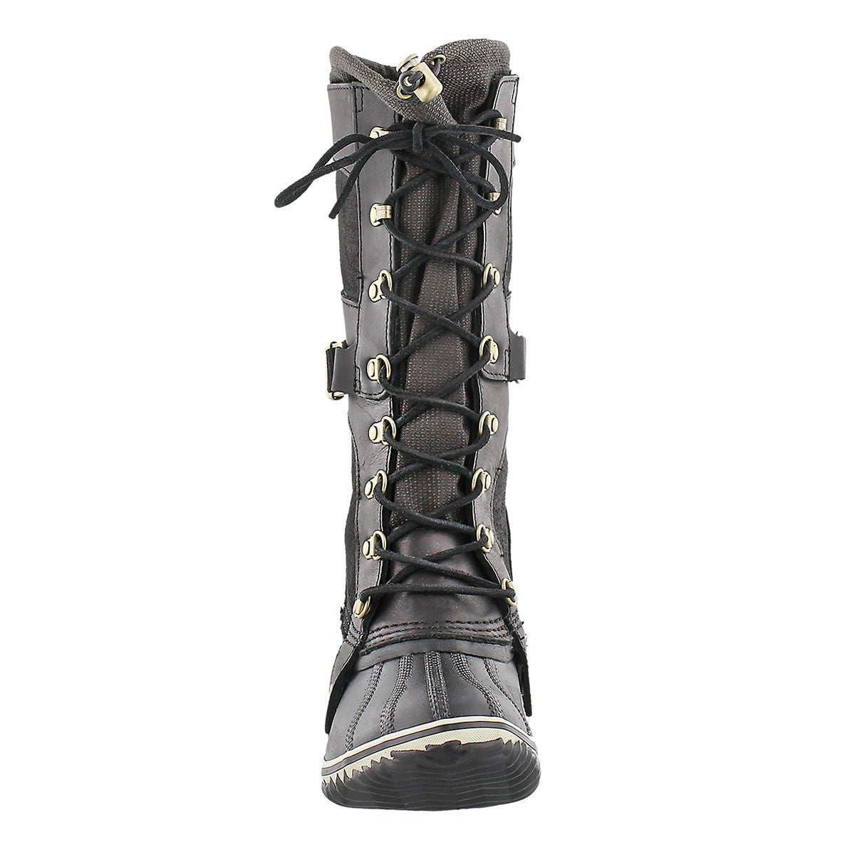 Lds Conquest Carly black knee high boot