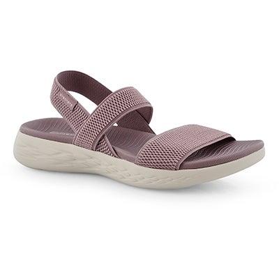 Sandale sport, On-The-Go600, mauve, fem.