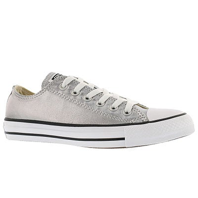 Converse Women's CT ALL STAR SEASONAL Mmtallic gun sneakers