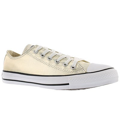 Converse Women's CT ALL STAR SEASONAL metallic gld sneakers