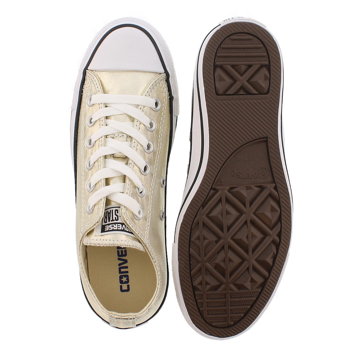 Lds CT A/S Seasonal Metallic gld sneaker