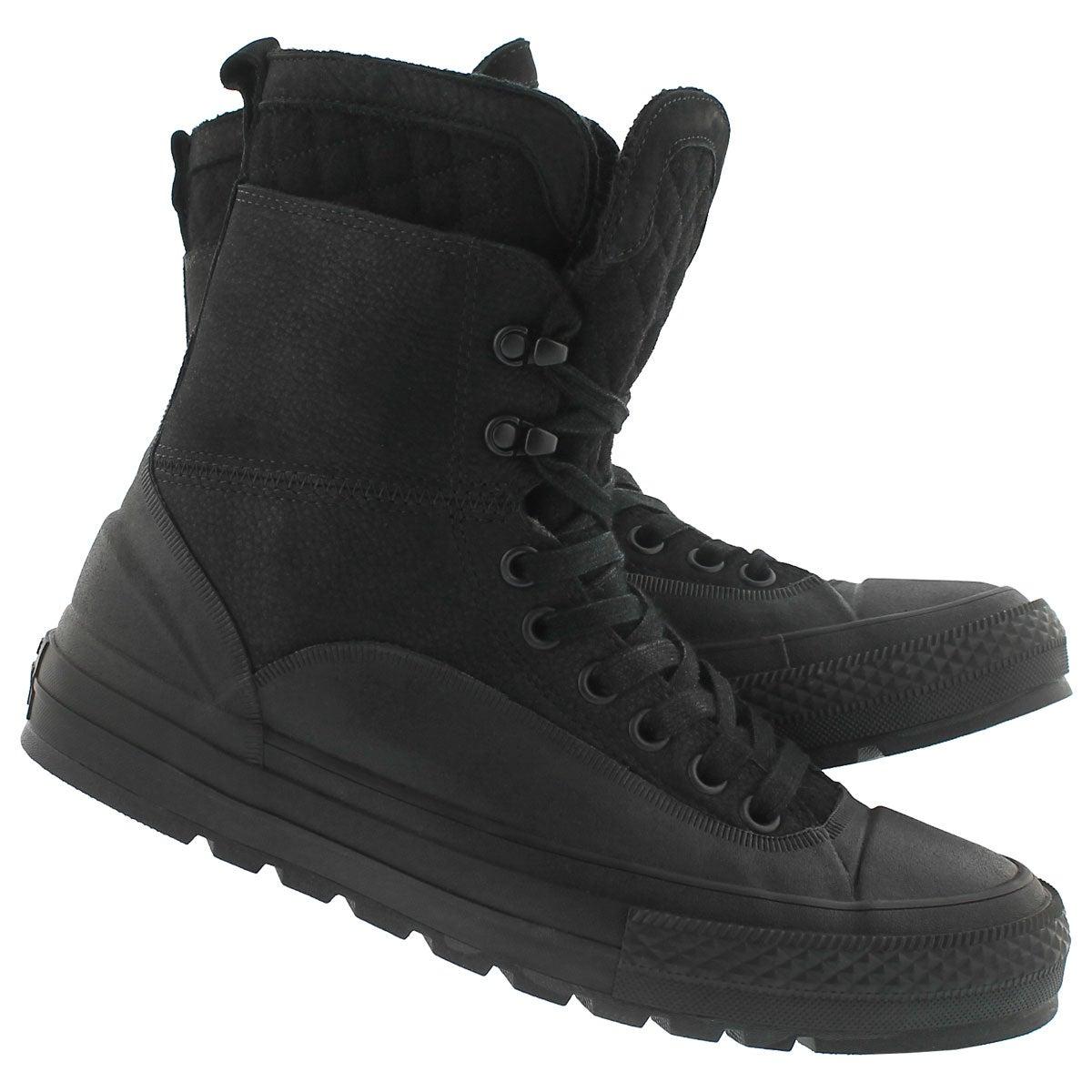 Mns CT A/S Tekoa Lthr Quilt blk mid boot