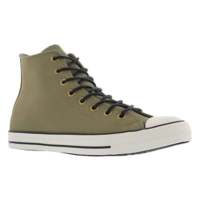 Converse Men's CT ALL STAR LEATHER CORDUROY  jute hi tops