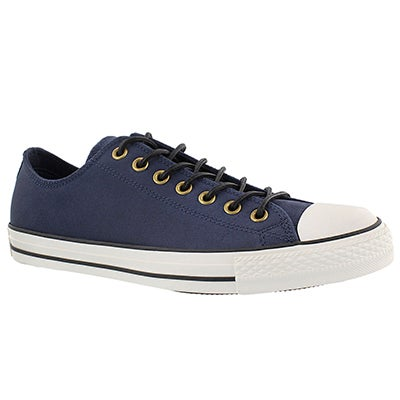 Converse Men's CT ALL STAR LEATHER  OX obsidian sneakers