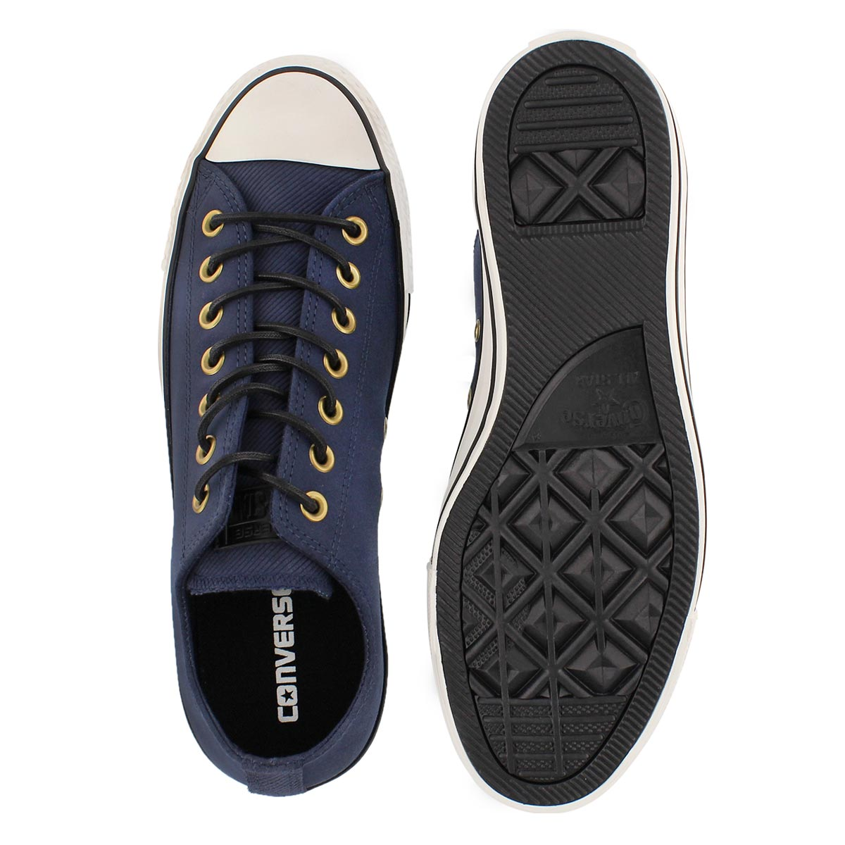 Mns CT A/S Leather Ox obsidian sneaker