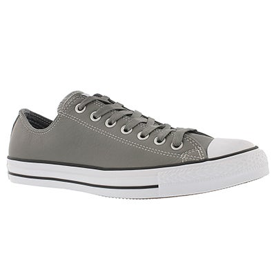 Converse Men's CT ALL STAR LEATHER  grey sneakers