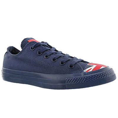 Converse Women's CT ALL STAR UK FLAG navy sneakers