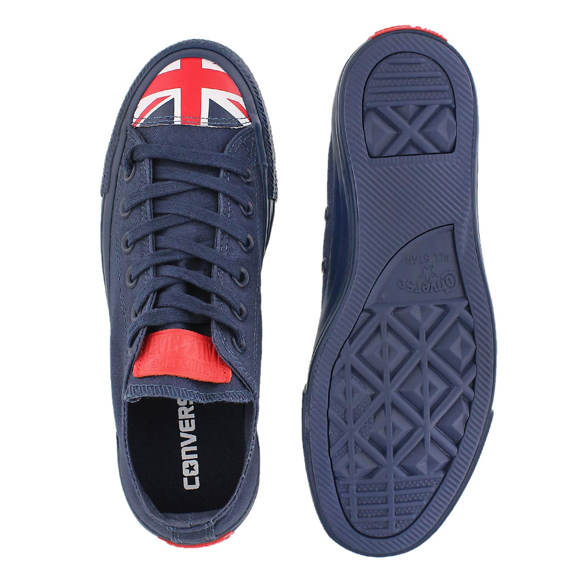 Lds CT All Star UK Flag nvy sneaker