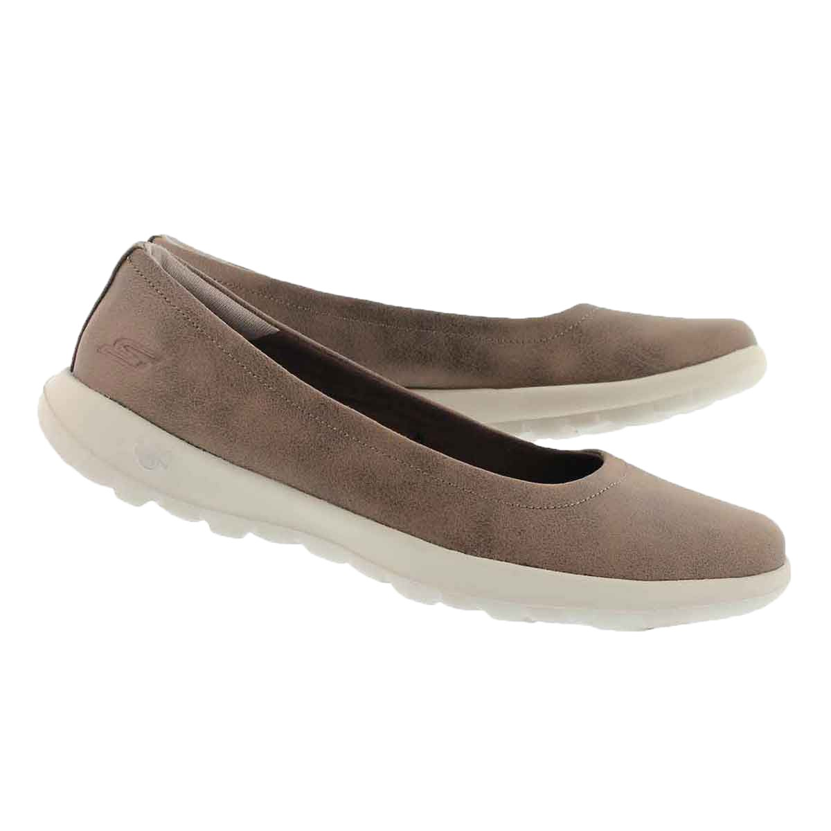 Lds GO Walk Lite Gem brown flat