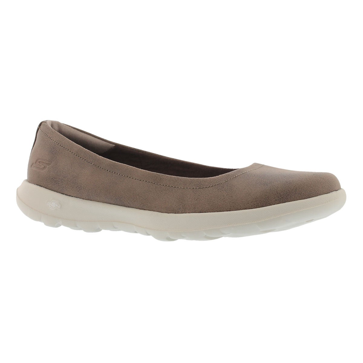 Women's GOwalk LITE GEM brown flats