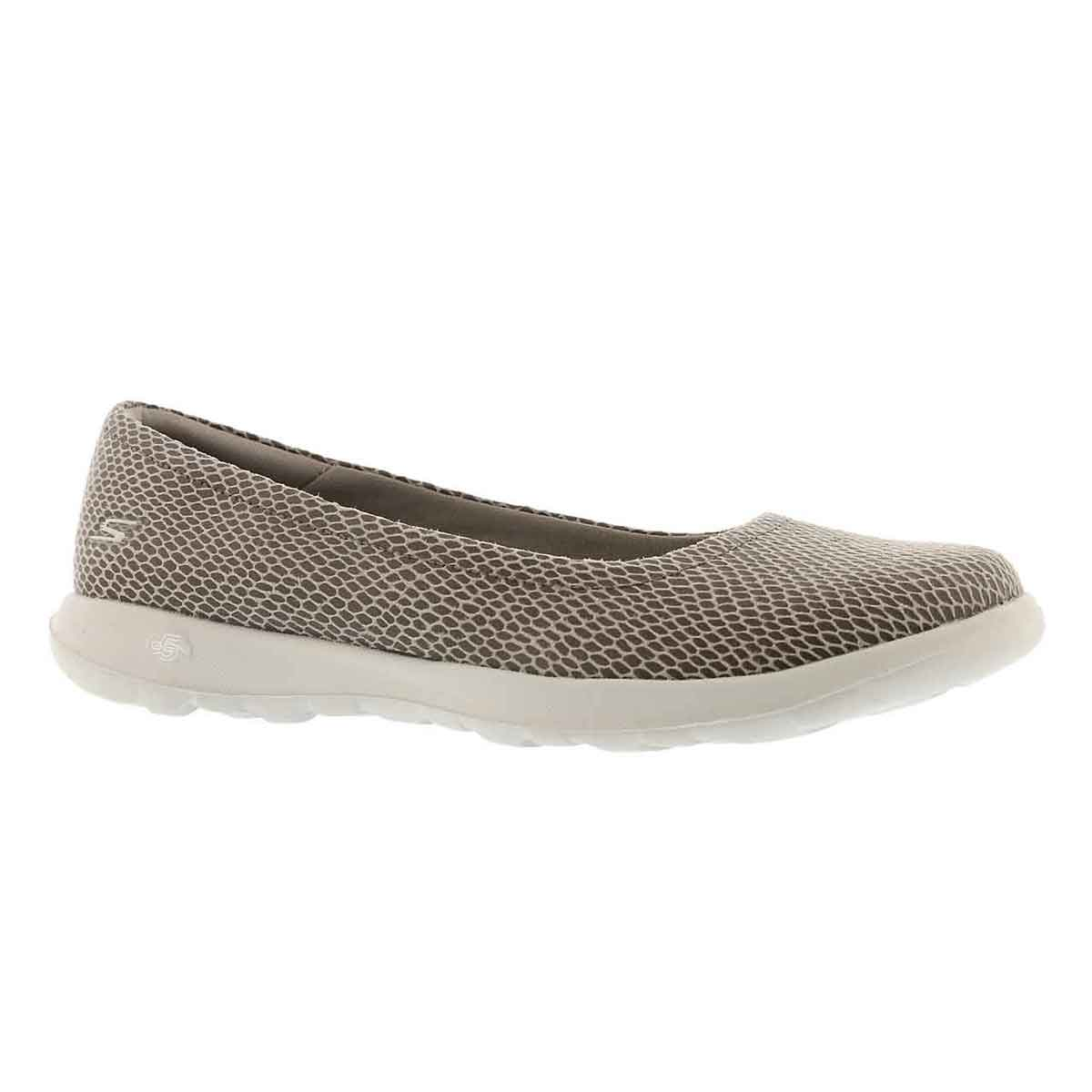 Lds GOwalk Lite Feisty  tpe snkprnt flat