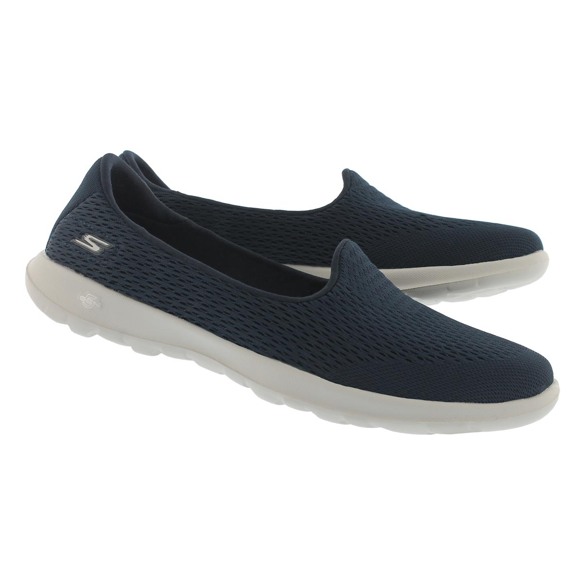 Lds GO Walk Lite nvy/gry slip on shoe