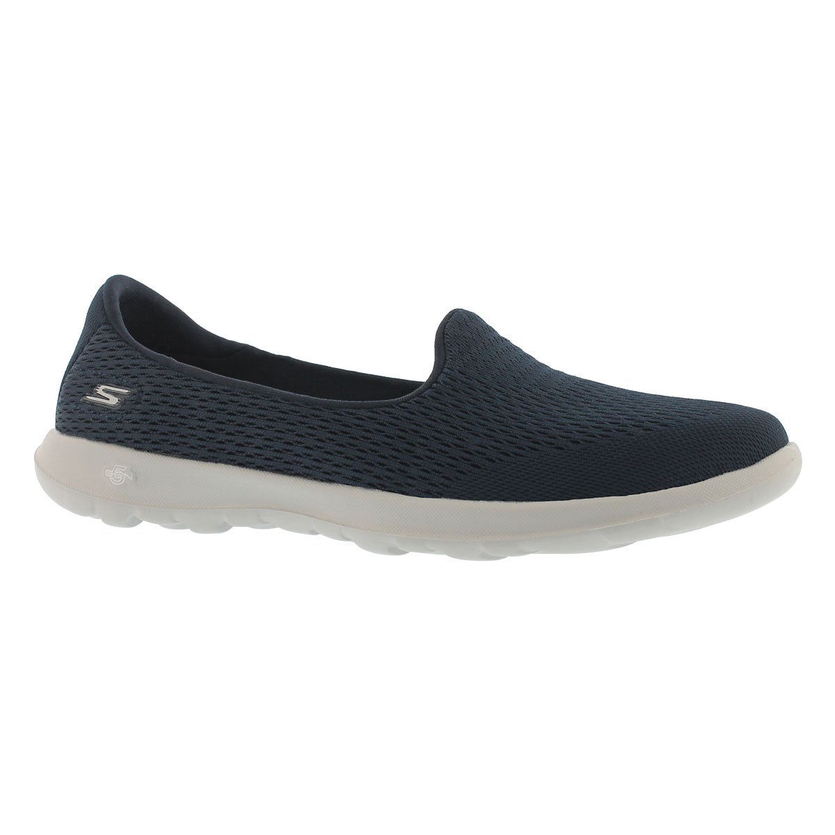 Women's GOwalk LITE navy/grey slip on shoes