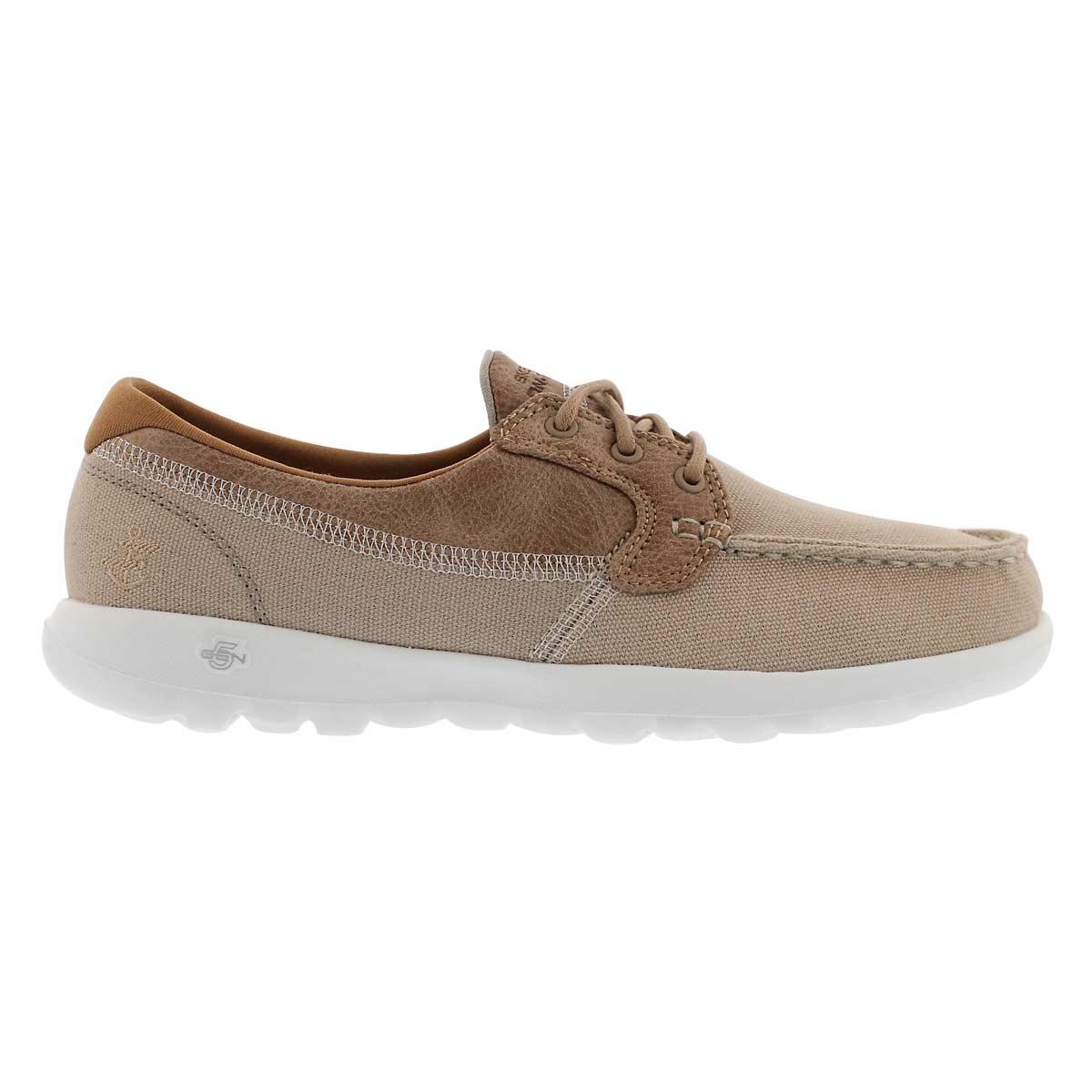 Lds GOwalk Lite Coral natural boat shoe