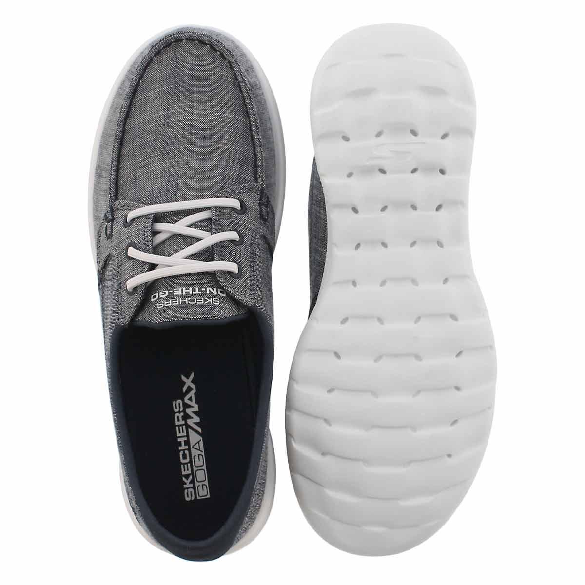 Lds GO Walk Lite navy boat shoe