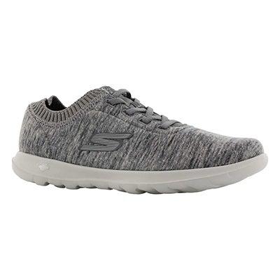 Lds GOWalk Lite charcoal sneaker