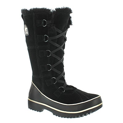 Sorel Women's TIVOLI HIGH II black winter boots