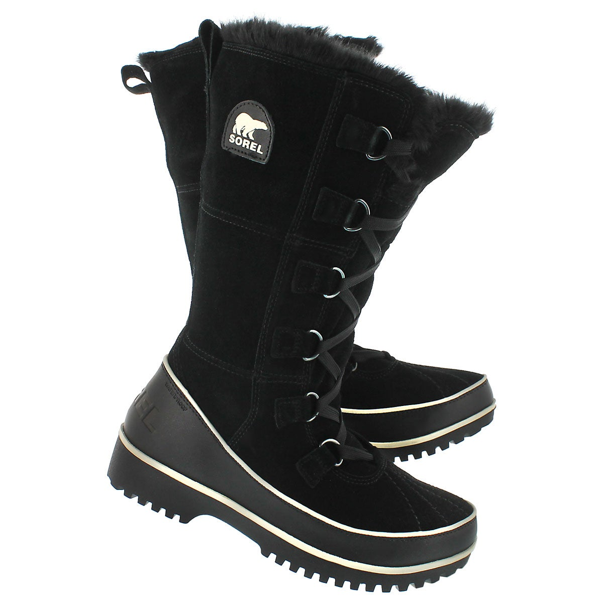 Lds Tivoli High II blk winter boot