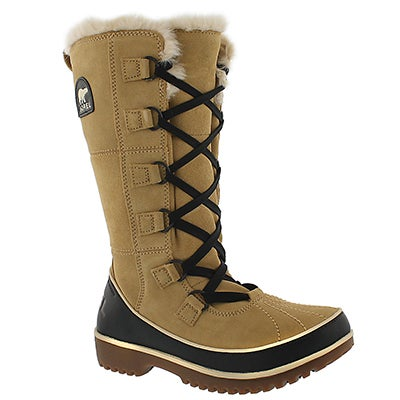 Sorel Women's TIVOLI HIGH II curry winter boots