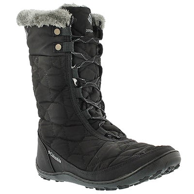 Lds Minx Mid II black winter boot