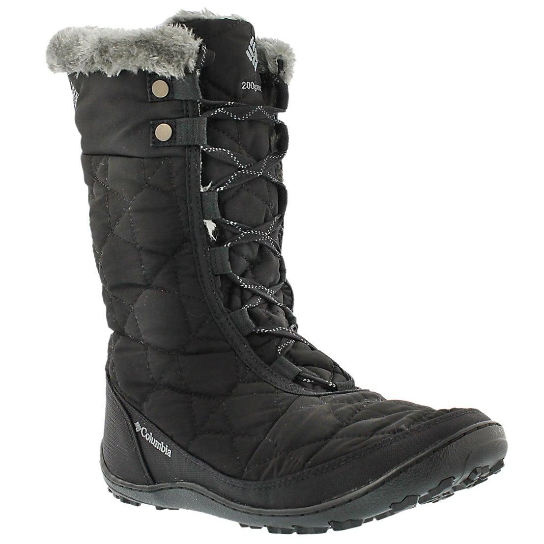 Women's MINX MID II black winter boots