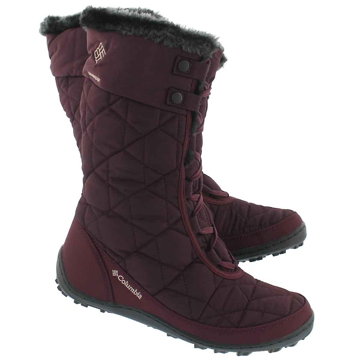 Lds Minx Mid II purple winter boot