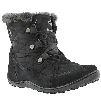 Columbia Women's MINX SHORTY black winter boots