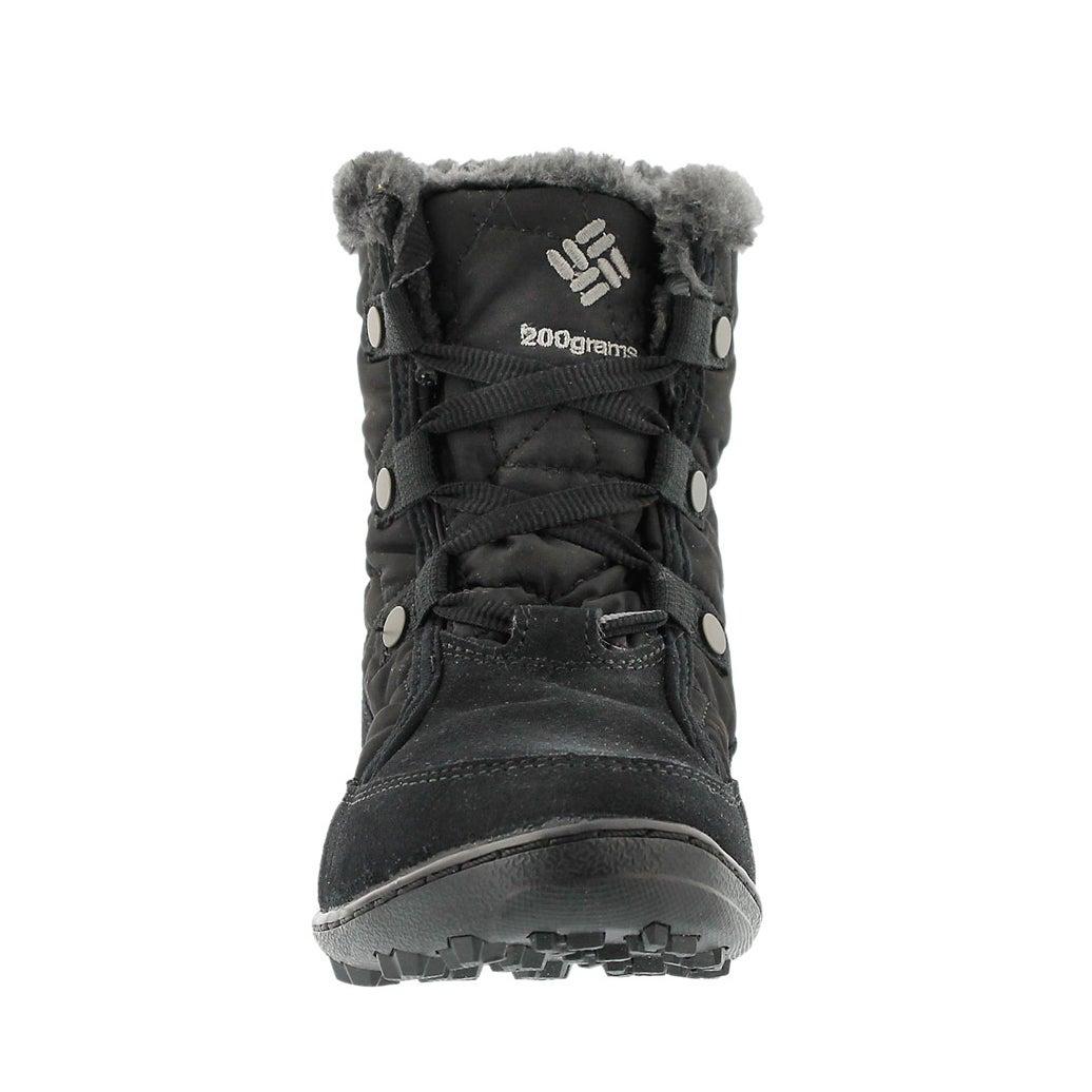 Lds Minx Shorty black short winter boot
