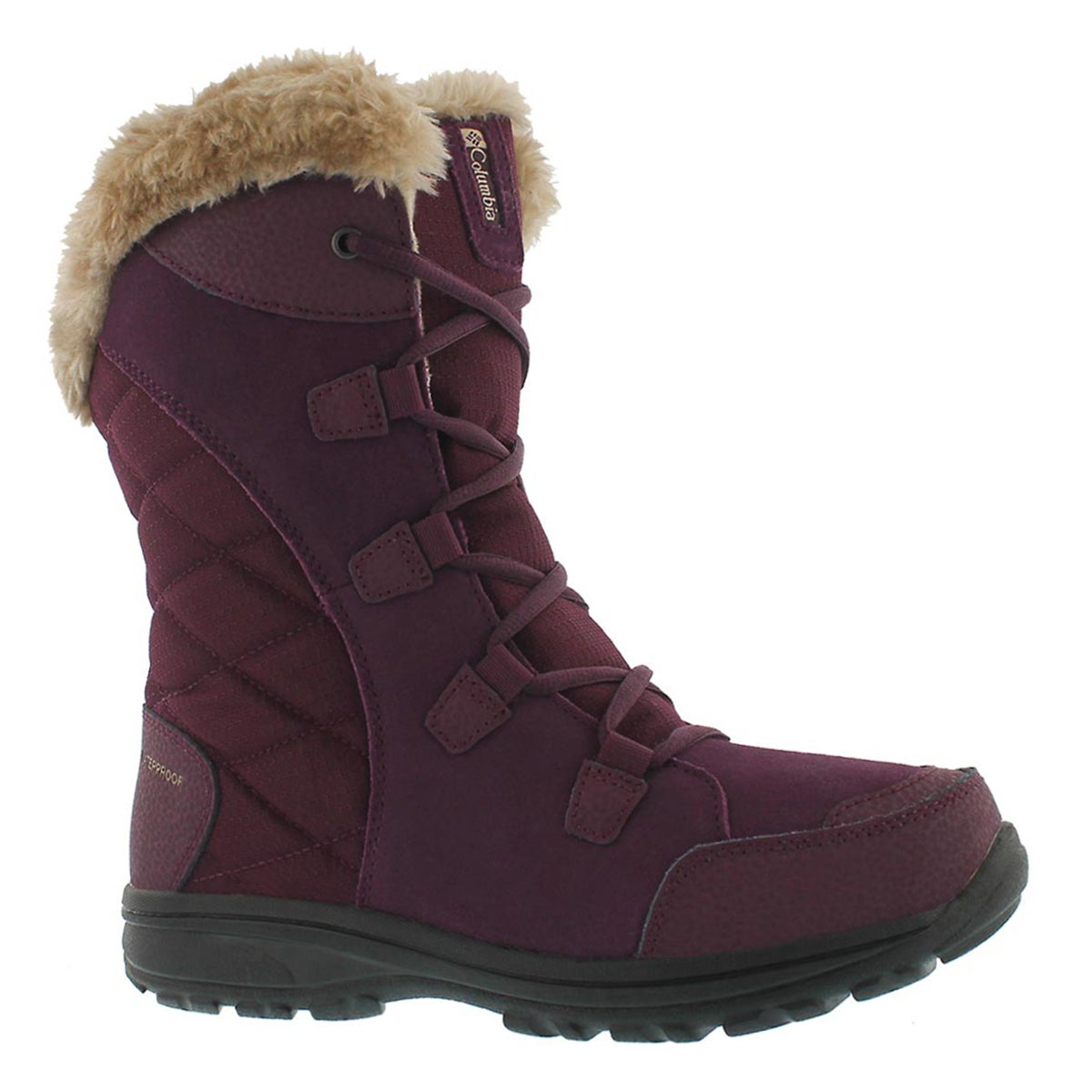 Lds Ice Maiden II purple winter boot