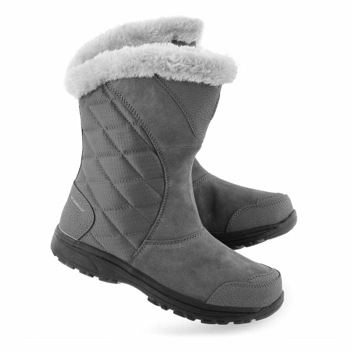 Lds Ice Maiden II Slip grey winter boot