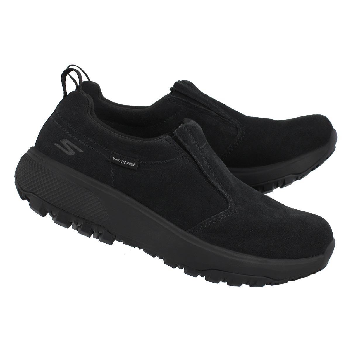 Lds Outdoor Ultra blk wtpf slip on shoe