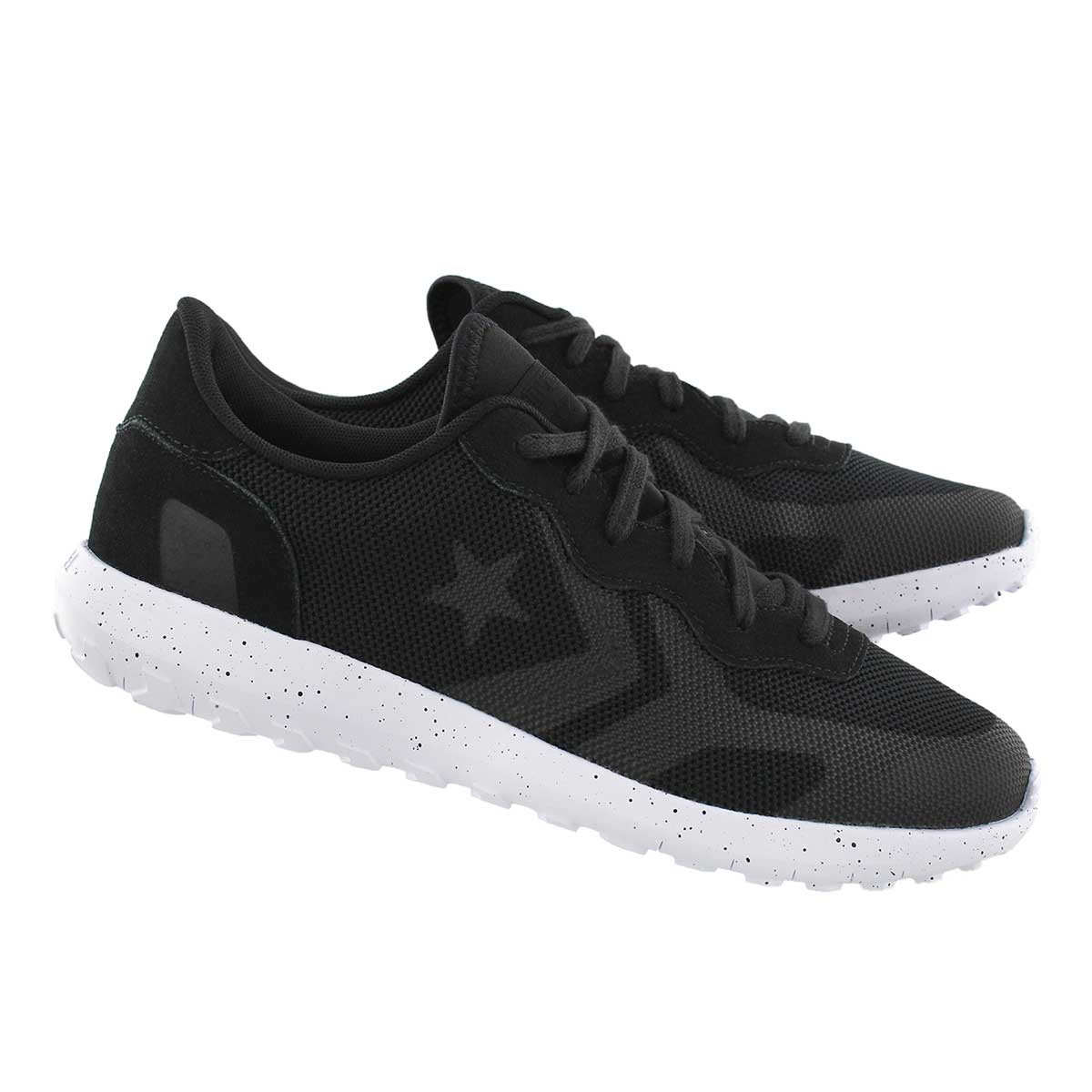 Mns Thunderbolt black lace up sneaker