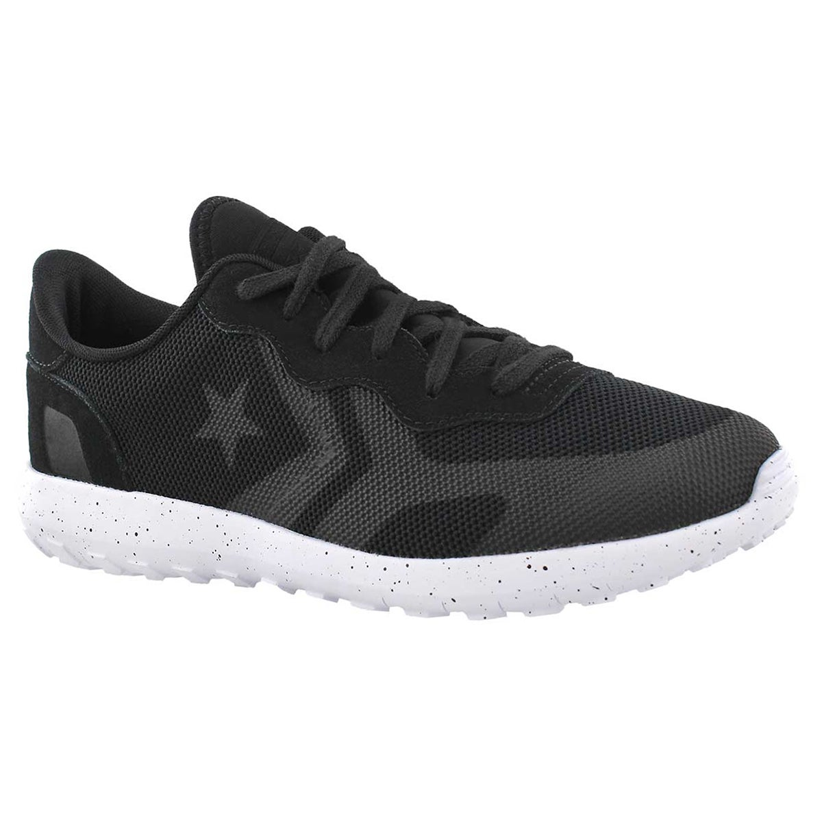Men's THUNDERBOLT black lace up sneakers