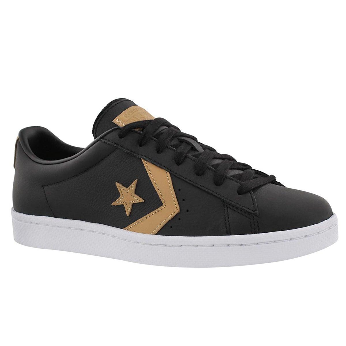 Men's PL 76 black sneakers