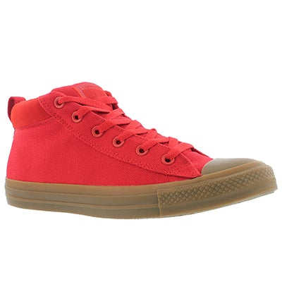 Mns CT A/S Street red/dk honey sneaker