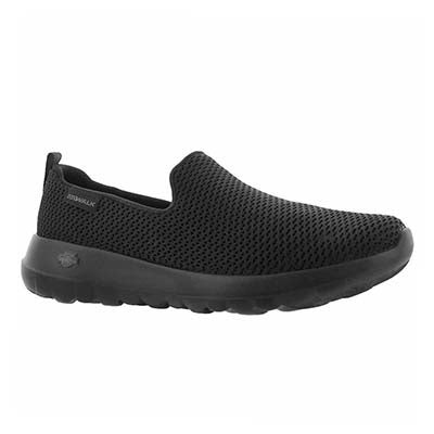 Lds GO Walk Joy blk slip on shoe