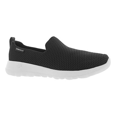 Lds GO Walk Joy blk/wht slip on shoe