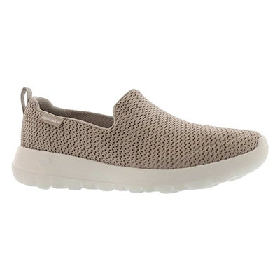 Lds GO Walk Joy taupe slip on shoe