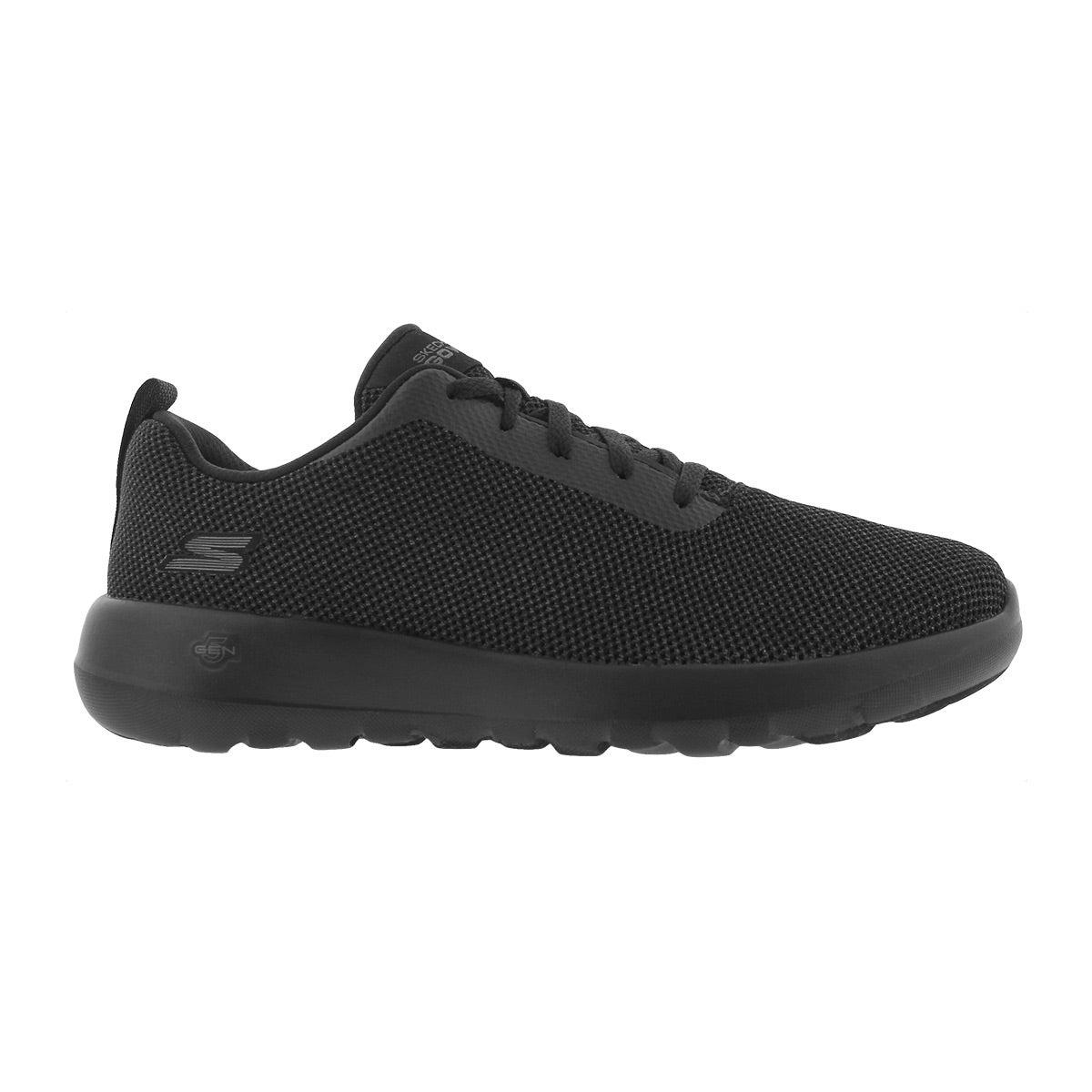 Lds GO Walk Joy blk lace up walking shoe