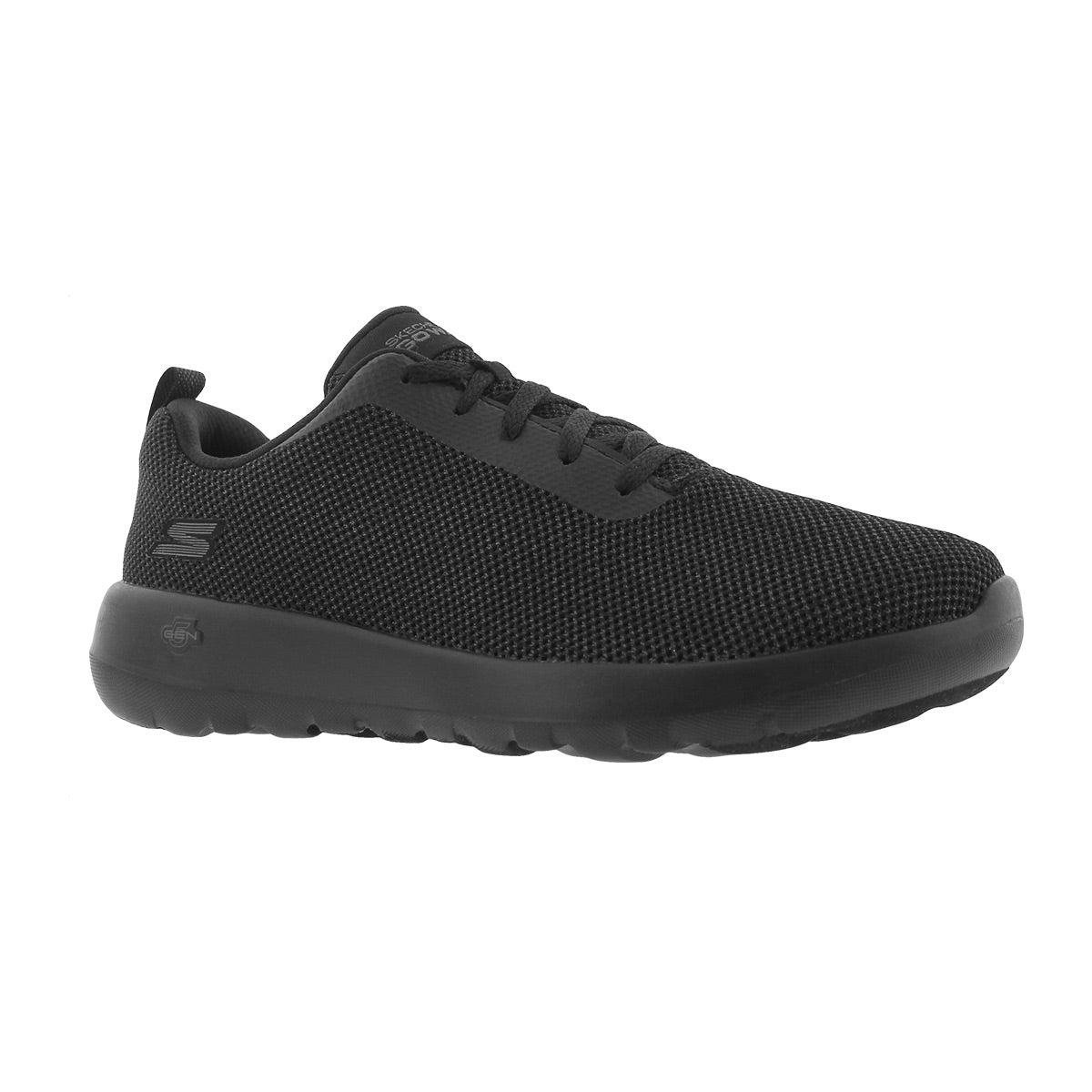 Women's GO WALK JOY black lace up walking shoe