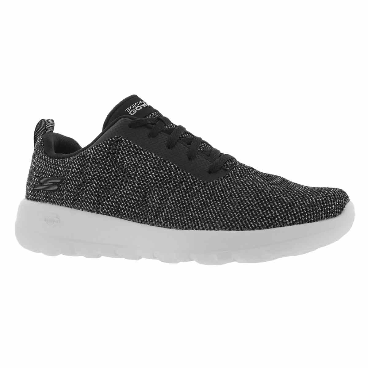 Women's GO WALK JOY black/white walking shoe