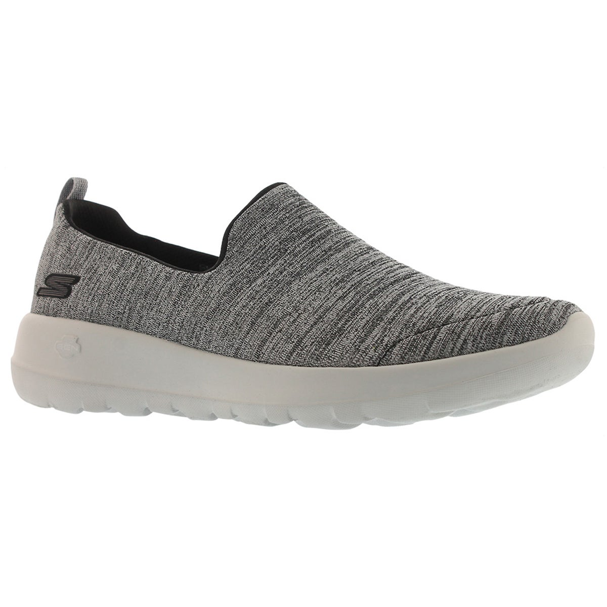 Women's GOwalk JOY ENCHANT black/grey slip ons