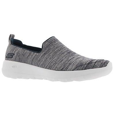 Lds GO Walk Joy nvy/wht slip on shoe